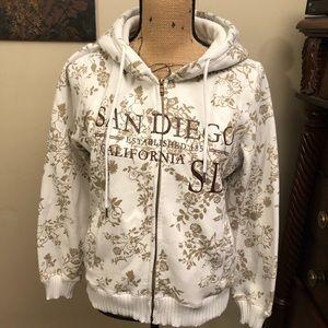 San Diego zip up jacket